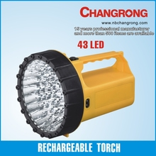 Indian portable rechargeable led flashlight