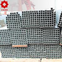 hot dip carbon tube galvanized 1 inch square steel tubing astm a500 hollow section with high quality
