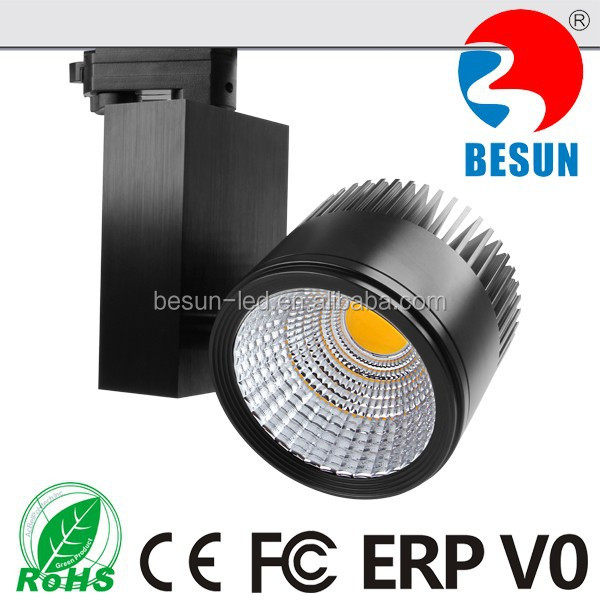 Commercial focus led tracklight dimmable 30w track light