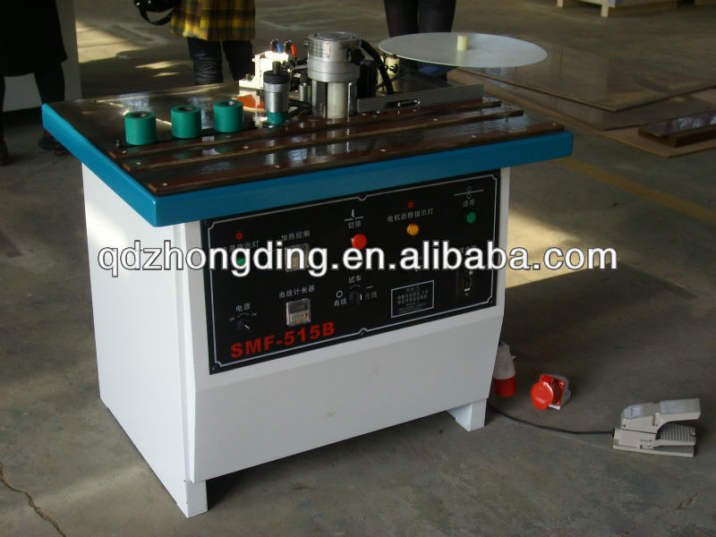 Double side gluing edge banding machine