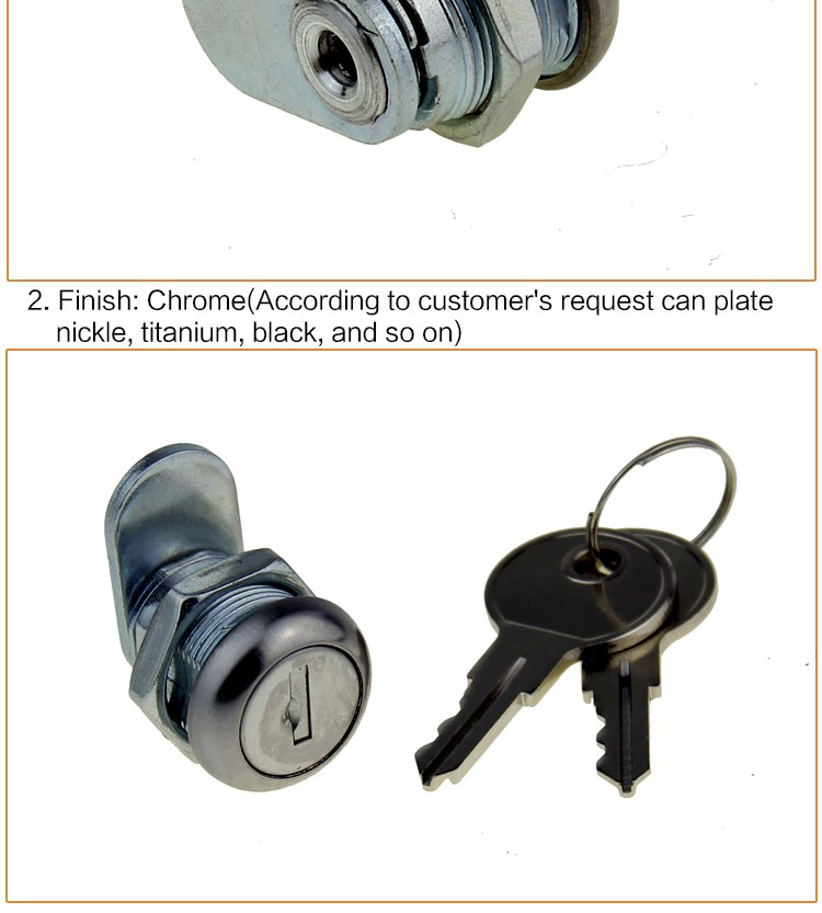 310BB-16 USA high quality 751CH cam Lock with stainless steel dust-proof cover