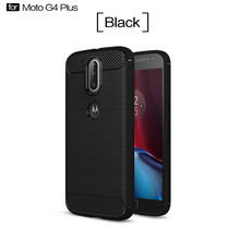 Hot sale carbon fiber tpu mobile phone case for Motorola G4 Plus,for Moto G4 Plus back cover