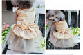 Luxury Dog Wedding Dress Bling Lovely Skirt Dog Clothes