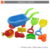 8pcs outdoor summer toy plastic beach toy set for kids
