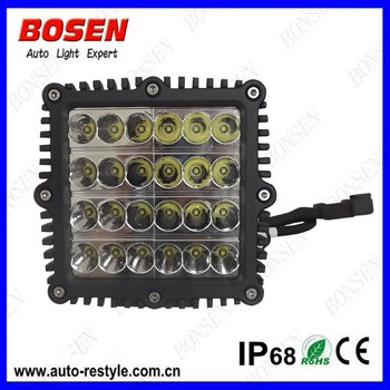 2015 factory price 72W C REE E pistar chip quad four row led bar light for turck offroad use only