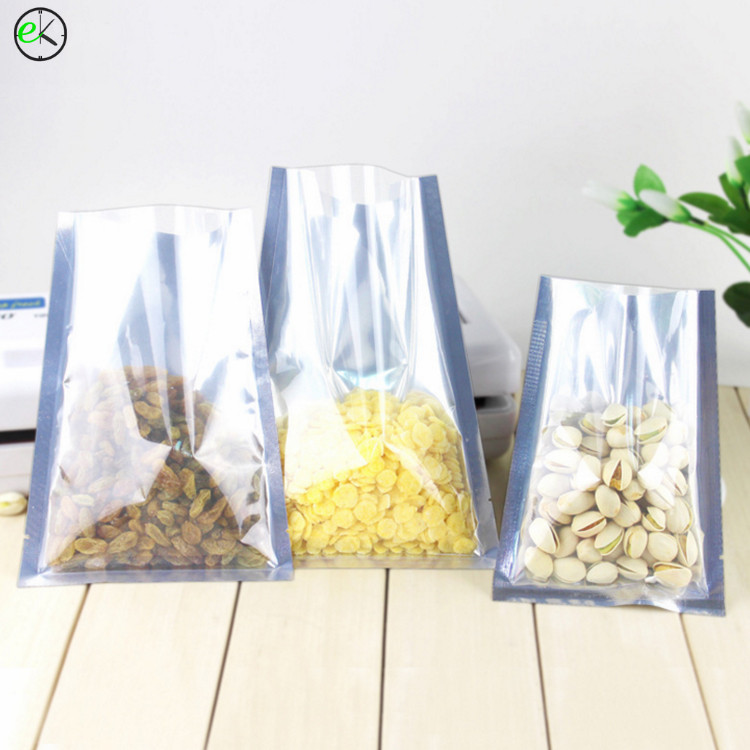 Wholesale custom standing nut snack packaging aluminum plastic foil frozen food bag