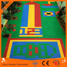 Courful Outdoor interlocking sport court floor, floor tiles