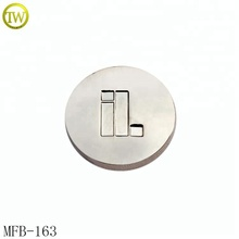 MFB163 Classic silver 19mm custom jacket rivets buttons men waer track jeans button