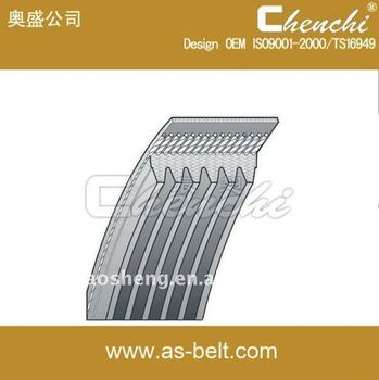 AOSHENG,ROYALINK,BEPLUS 6pk1875 auto rubber ribbed belt/pk belt OEM 96183108 use for Europe/America market factory outlet