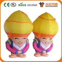 Factory direct sale special design advertisng inflatable cartoon from China