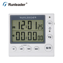 Dual Event Digital Count down Count Up Timer Used for Kitchen Baking Business Gym