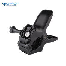 QIUNIU For GoPro Accessories Jaws Flex Clamp Mount for GoPro Hero 6 5 4 3+ 3 2 Handlebar Pole Clip