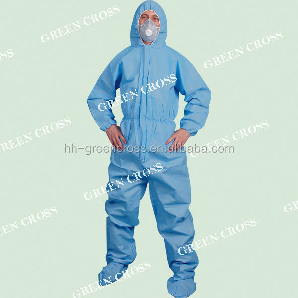 OEM, Disposable safety overall/coverall/SMS coverall