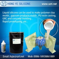 polymer clay molds concrete molds making RTV silicone
