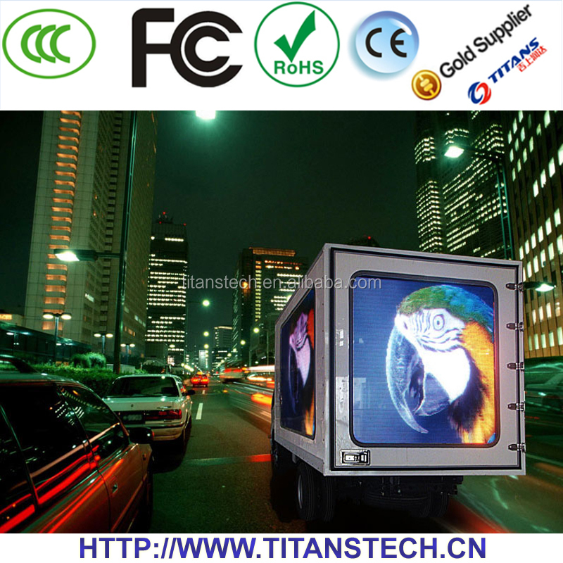 Titans Outdoor full color led panel advertising,xxx video full color led video wall,3d led wall panel