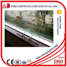 China manufacturer Tempered glass with CCC,ISO,CE standards