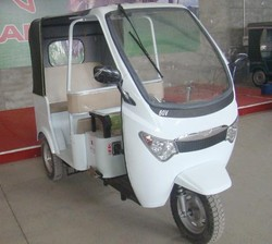 Battery Rickshaw Electric Tricycle for Passengers Auto Rickshaw Three Wheelers