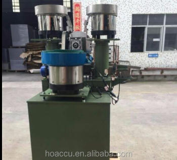 Screw Plain washer Spring washer assembly machine