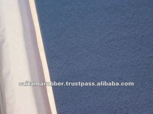 High performance vibration damping rubber sheet for cars