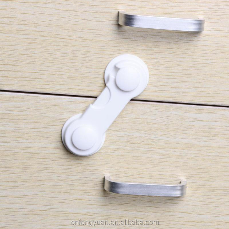 FENGYUAN  Multi-function Child Baby Safety Lock Cupboard Cabinet Door Drawer Safety Locks Children Security Protector Baby Care