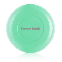Mobile Phone Mini Portable Round Shape 4400MAH Container Power Pack