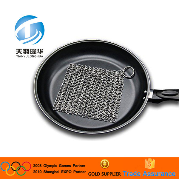 2016 Hot Alibaba Hot Food Grade Cookware Effortlessly Clean Scrubber