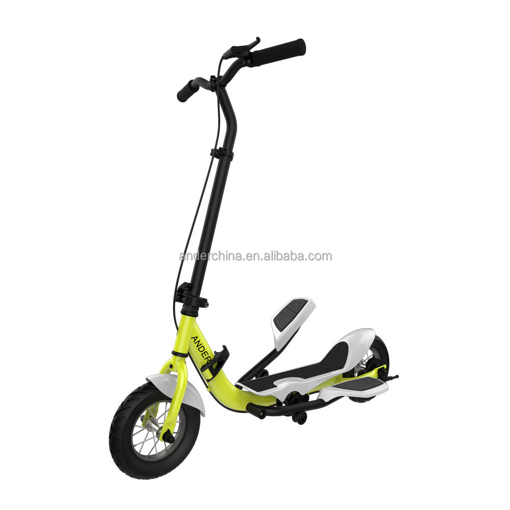 Air Tire Adult Swing Step No Electric Pedal Scooter