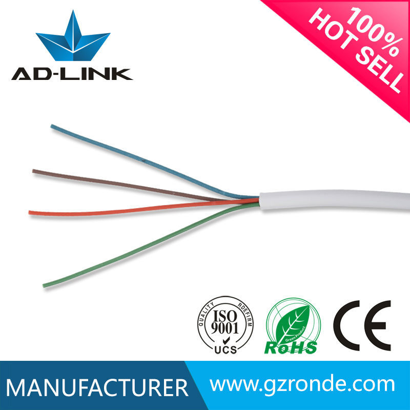 2/4/6/8 Cores Wire Round Telephone Cable
