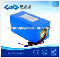 Super capacity 48V 30Ah lifepo4 battery pack DIY 13S 48V electric bike battery with BMS protection and Charger