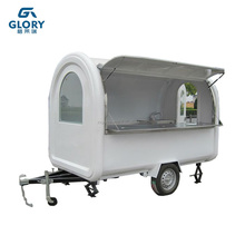 With 100L Capacity Water Tank Moboile Food Cart For Chile Market