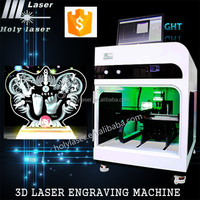 crytstal 3d laser machine 3d Beautiful wedding photo 3d printer 3d laser engraving engraver machine price For Crystal