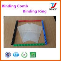 21 ring PVC Plastic binding Comb book binding
