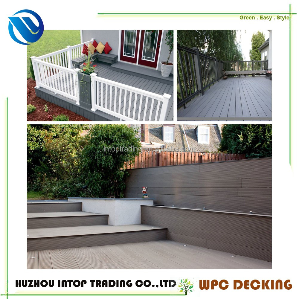 wpc Outdoor Artificial decking wpc outdoor veneer decking