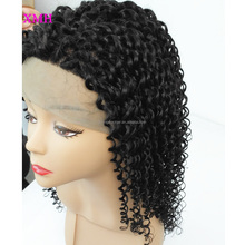 Virgin Hair Afro Kinky Curly Full Lace Wig Natural Afro Hair Invisible Hairline Full Lace Wig Part Anywhere Brazilian Hair Wig