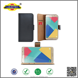 wallet leather flip case for samsung galaxy A9 pro 2016