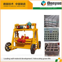 good quality movable hollow block machine in philippines made in China