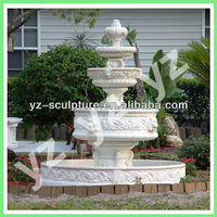 garden antique 3 tier water fountain for sale