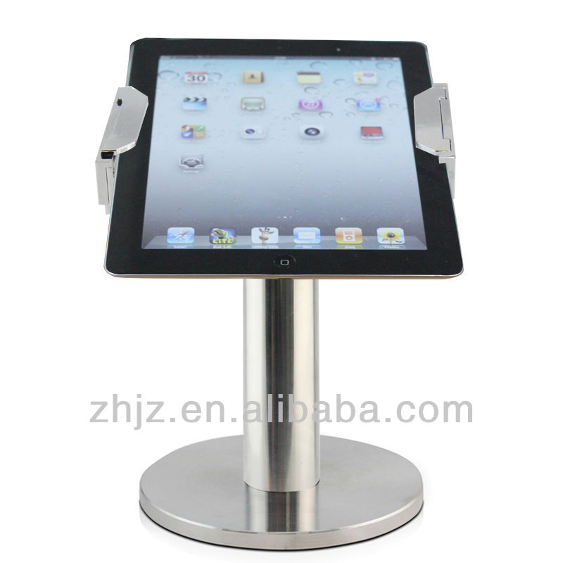 2015 new gadgets tablet android lockable aluminium stand for ipad security,tablet security case