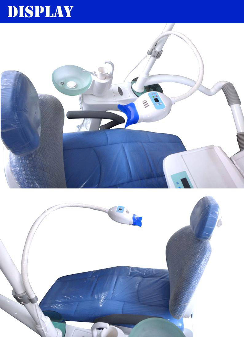 Professional teeth whitening led light machine with dental chair