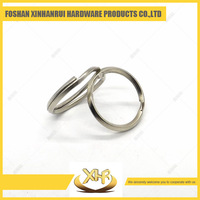Custom cut out metal key ring 38mm split ring for gift collection