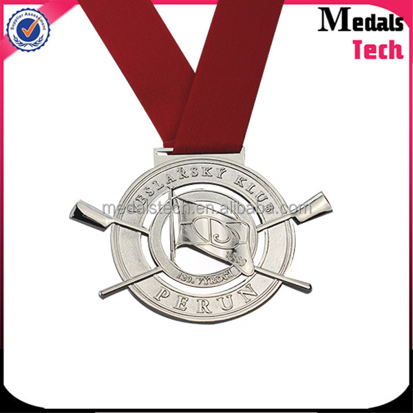 Shenzhen best sale sliver metal souvenir 3D European Union peaceful medal for quotation