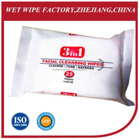 25ct WET WIPES QUASH ORIGINAL ANTI BACTERIAL WIPES FACE AND HAND WIPES