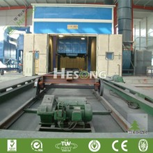 Industrial Shot Blasting Room / Sand Blasting Booth For Sale