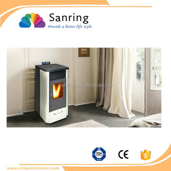 hot selling 9 kw round design cast iron stove fireplace