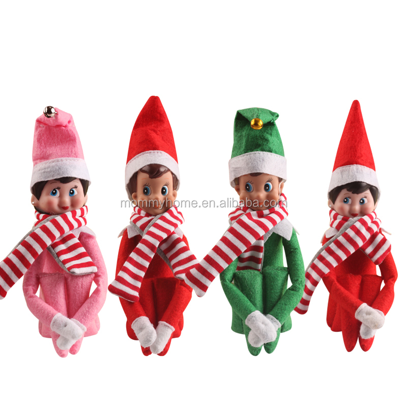 Wholesale tradition Elf on the Shelf Christmas gift Elf doll M6082501