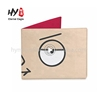 Excellent material fashionable mini cow genuine leather wallet