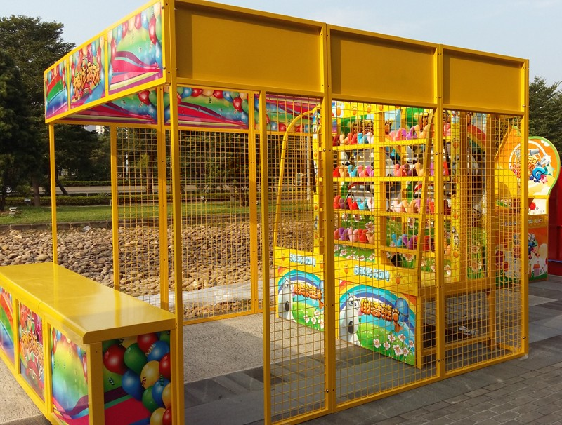 2019 new products entertainment park booth games hit bear
