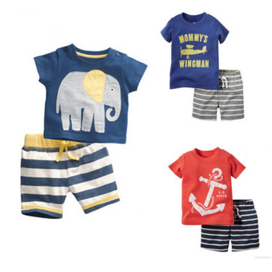 Newest style wholesale high quality childrenfancy suit cheap boys clothing set