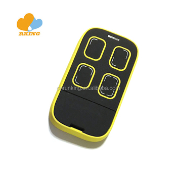 multifrequency remote control duplicator for auto barrier motor