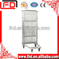 Roll Metal Storage Cage with wheels